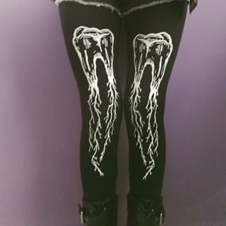 teeth leggings