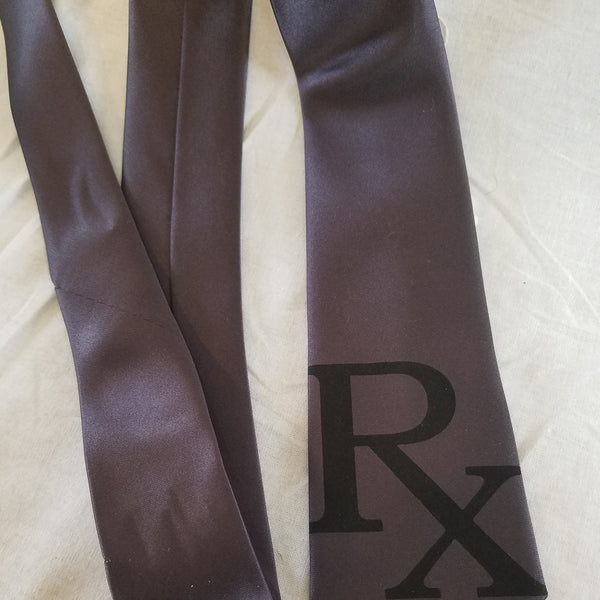 Prescription Pharmacist Rx Necktie