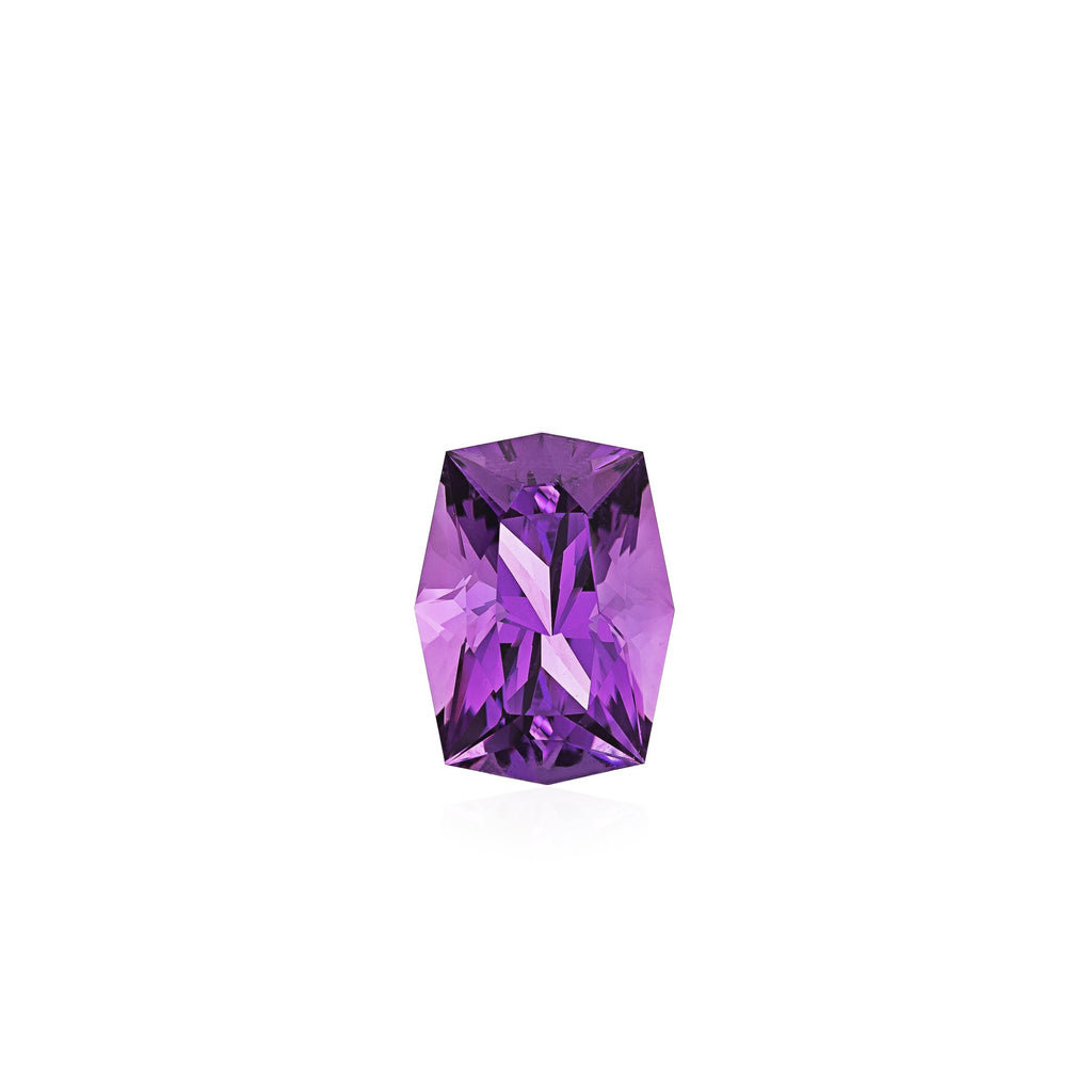 SDG-AM15: Loose Faceted Amethyst Gemstone