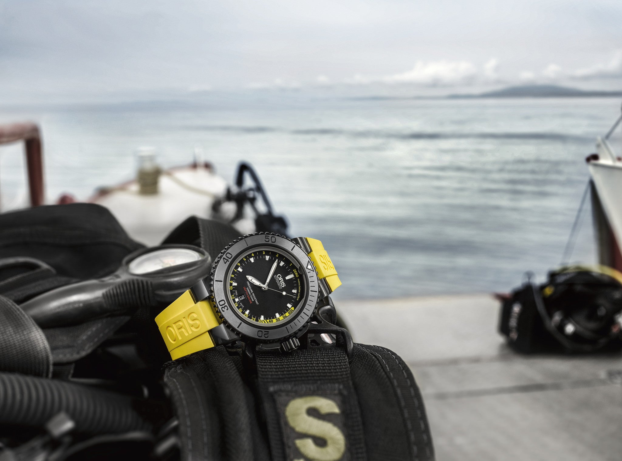 The Oris Aquis Depth Gauge: technology and ruggedness meet and impress
