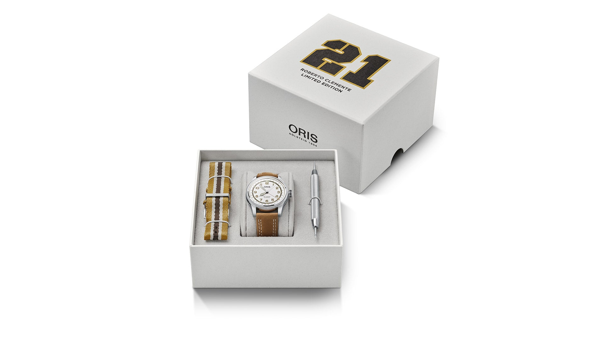 The Limited Edition Oris Roberto Clemente Watch.