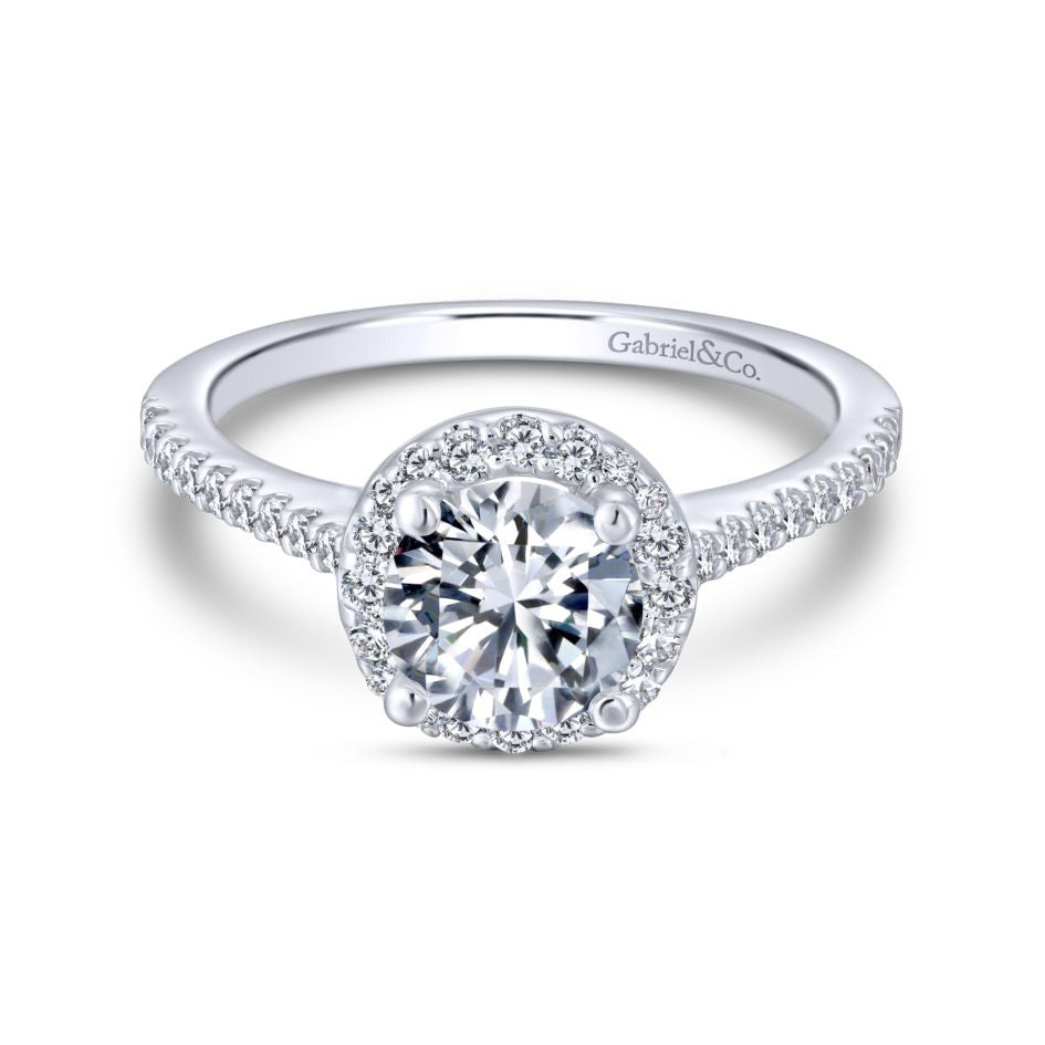 2019 Engagement Ring Trends - Halos
