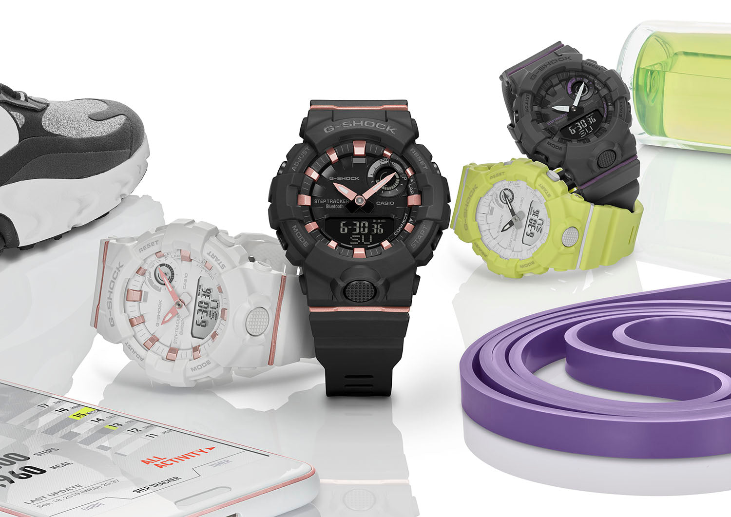 G-SHOCK WOMEN UNVEILS FIRST COLLECTION OF CONNECTED S-SERIES WATCHES