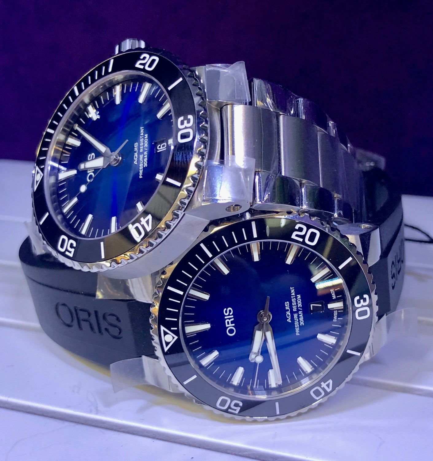 The Oris Clipperton Limited Edition Aquis Dive Watch First Look
