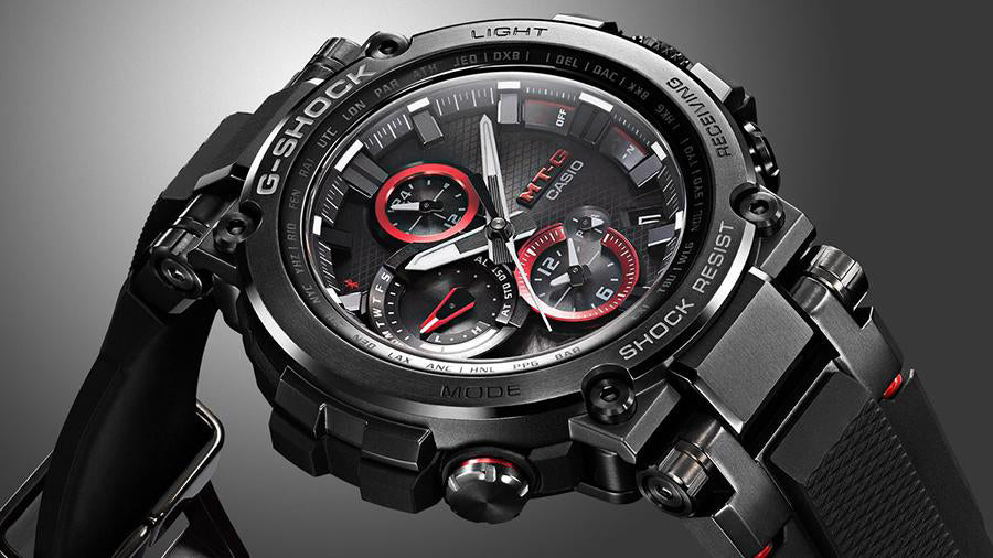 Features Abound with the MT-G G-Shock MTGB1000B-1A
