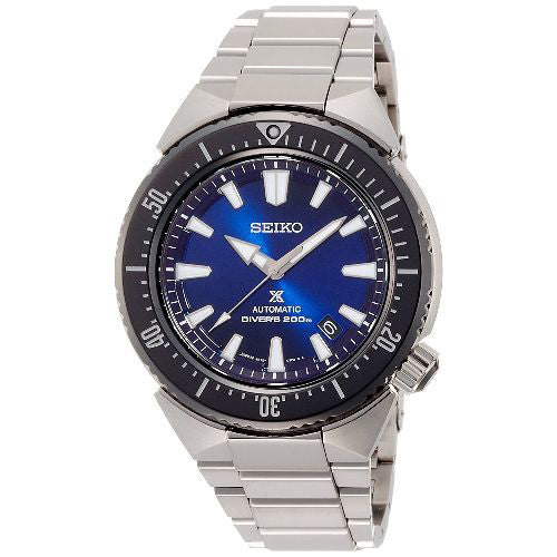 Seiko Prospex Dive Watch Transocean Blue Face SBDC047