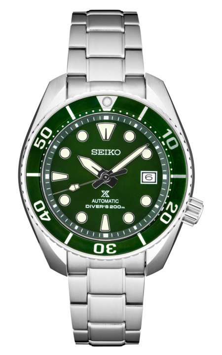 Seiko Prospex SUMO Hulk Green SPB103 Dive Watch