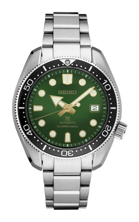 Seiko Master Prospex SPB105 Green Dial Dive Watch