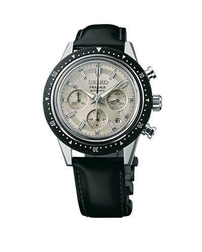 Two limited editions celebrate milestones in Seiko's chronograph history