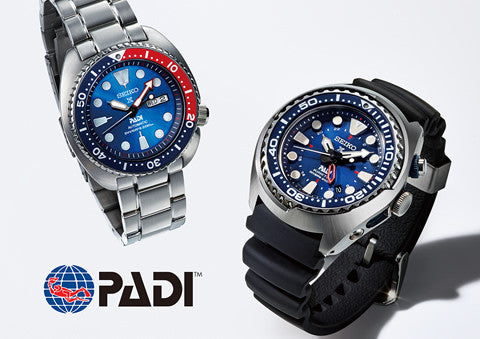 Seiko Launches PADI Dive Watch to Honor Partnership with Project AWARE