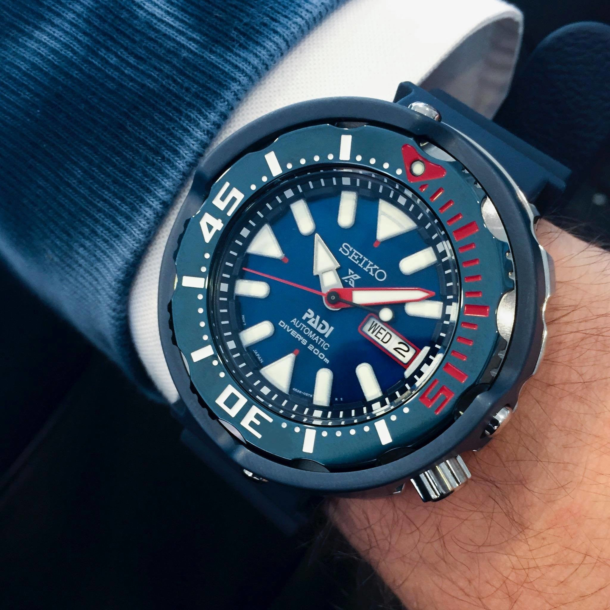 The New PADI Seiko Dive Monster Tuna Watch SRPA83