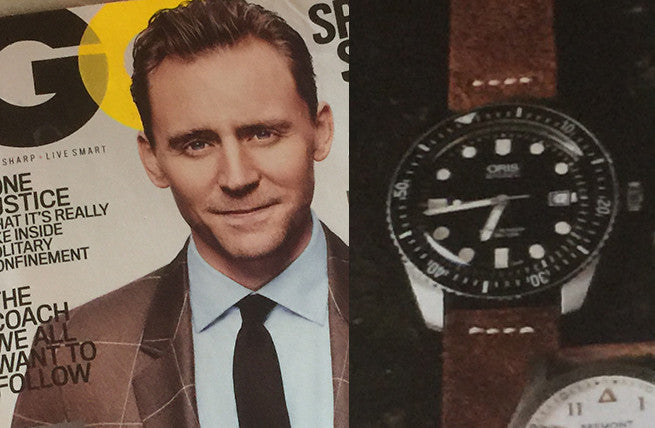 Celebrating Oris Watches from GQ to Esquire Magazine
