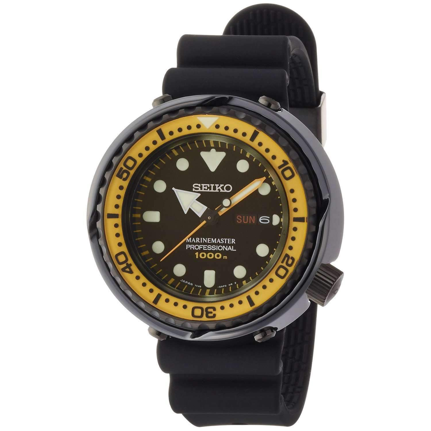 The Marine Master Quartz Yellow Tuna Prospex Dive Watch SBBN027