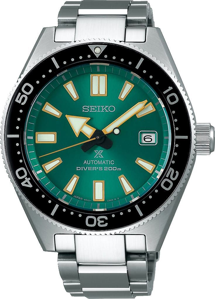 Seiko Limited Edition Green Prospex SBDC059 Dive Watch