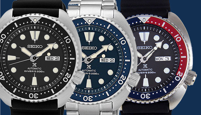The History of the Seiko Turtle Dive Watch