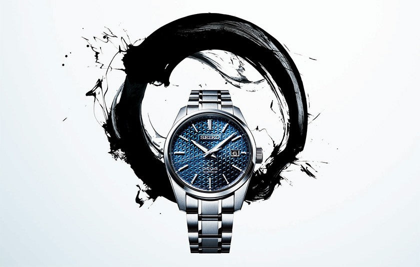 Seiko Presage Sharp, angular and refined series combines tradition and modernity.