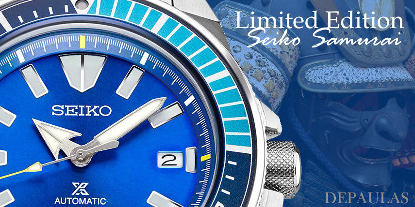 The Seiko Samurai SRPB09 Blue Lagoon Limited Edition Review