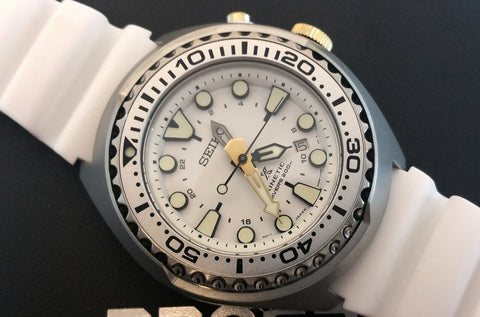 watch face 50th anniversary seiko white gold
