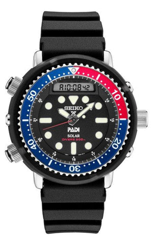 Seiko Arnie Solar PADI Divers 200M Men's Watch SNJ027 - DePaulas