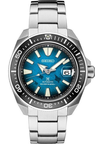 Seiko Prospex King Samurai Save the Ocean Manta Ray SRPE33 Dive Watch Automatic