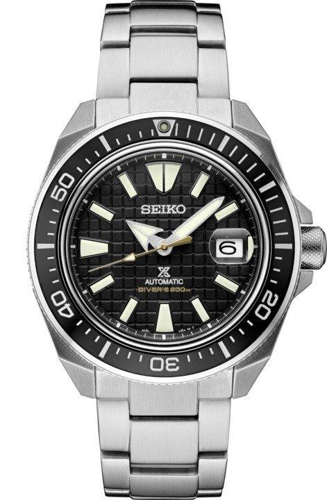 Seiko Prospex King Samurai Black Dial SRPE35 Dive Watch Automatic