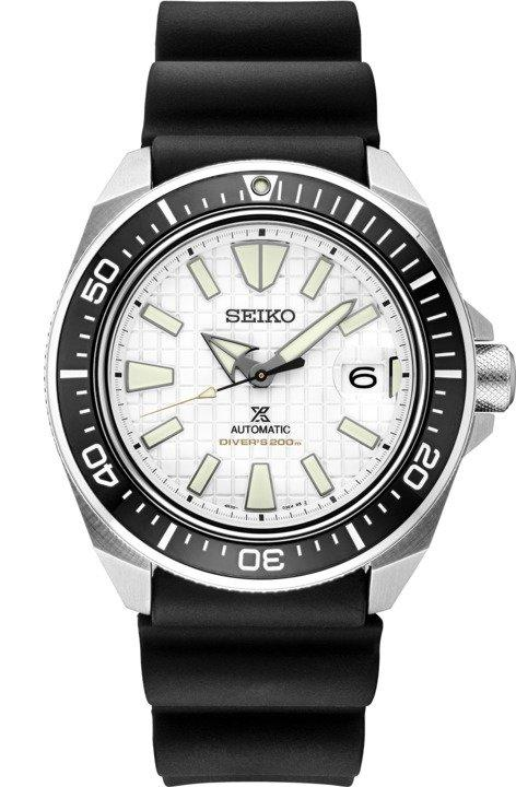 Seiko Prospex King Samurai White Dial SRPE37 Dive Watch Automatic