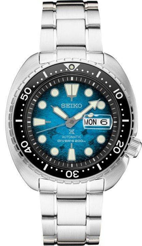 Seiko Prospex King Turtle Save the Ocean Manta Ray SRPE39 Dive Watch Automatic