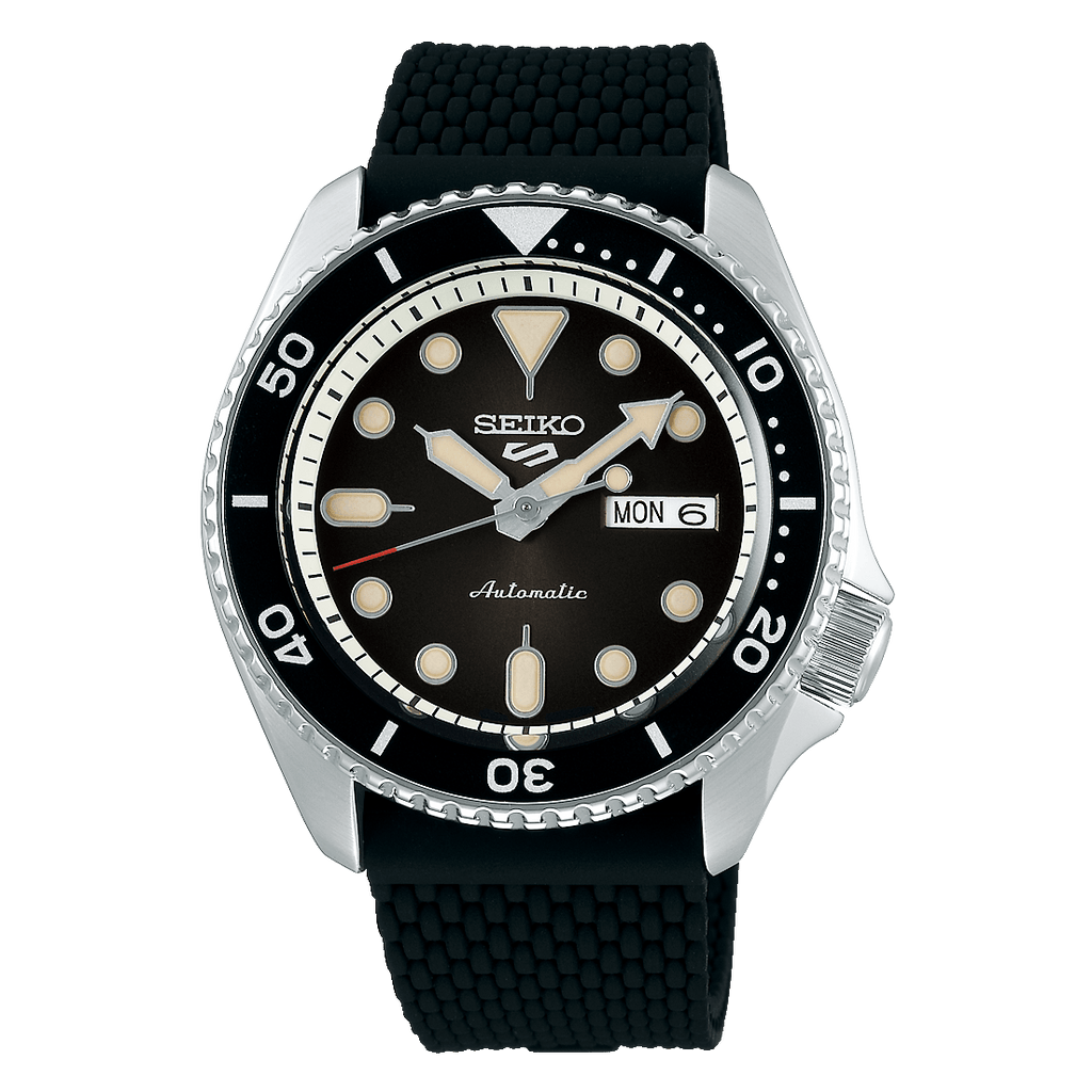 Seiko 5 Sports Black SRPD95 - DePaulas