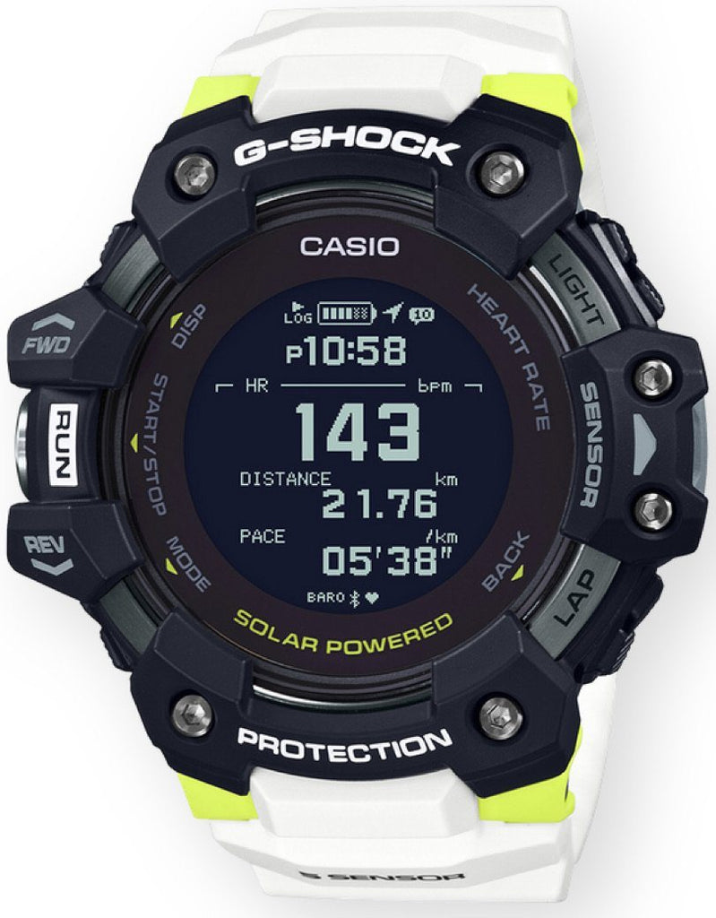 G-Shock Move GBDH1000-1A7 White Yellow