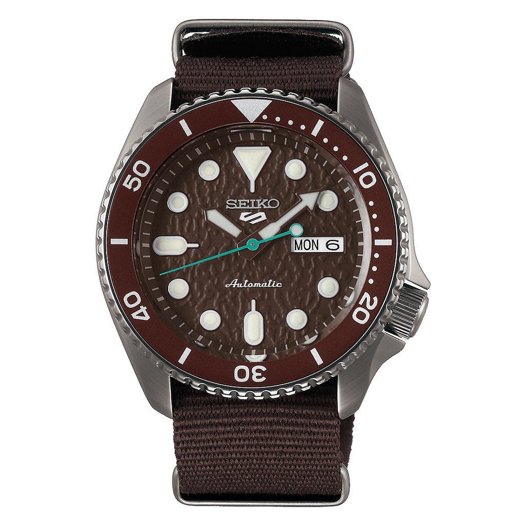 Seiko 5 Sports Brown SRPD85 - DePaulas