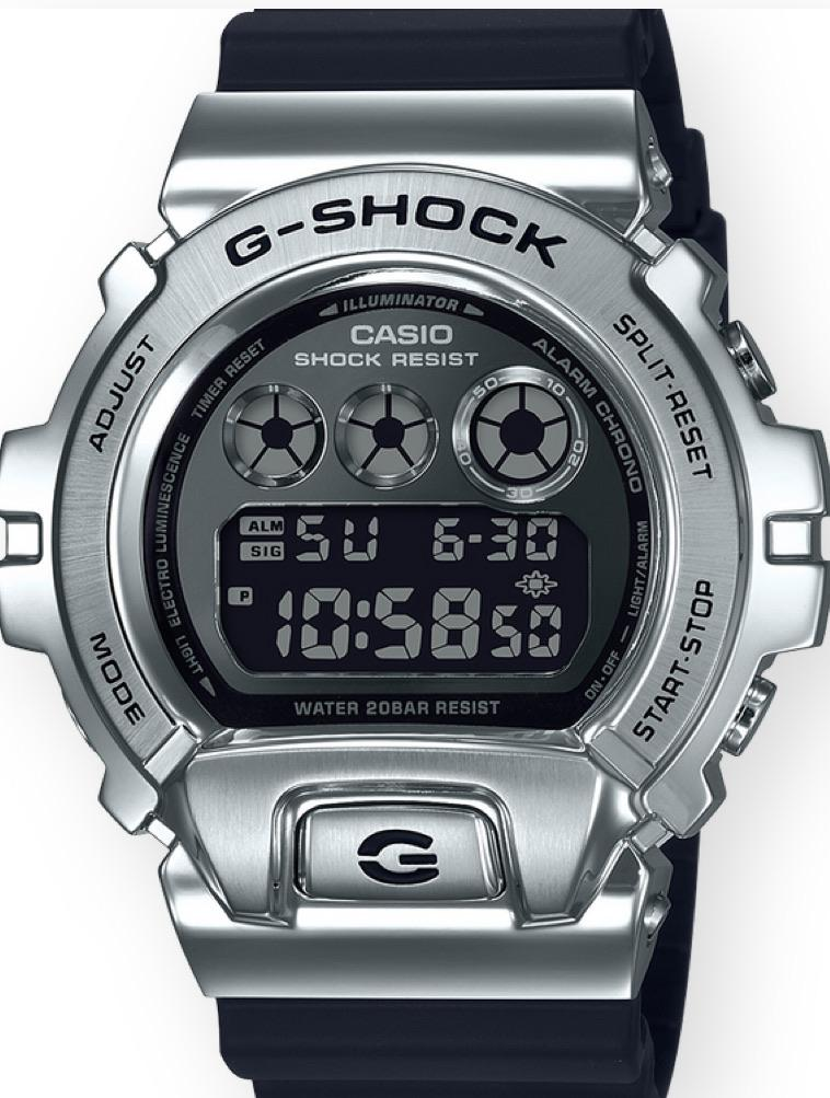 G-Shock GM6900-1 Stainless - DePaulas