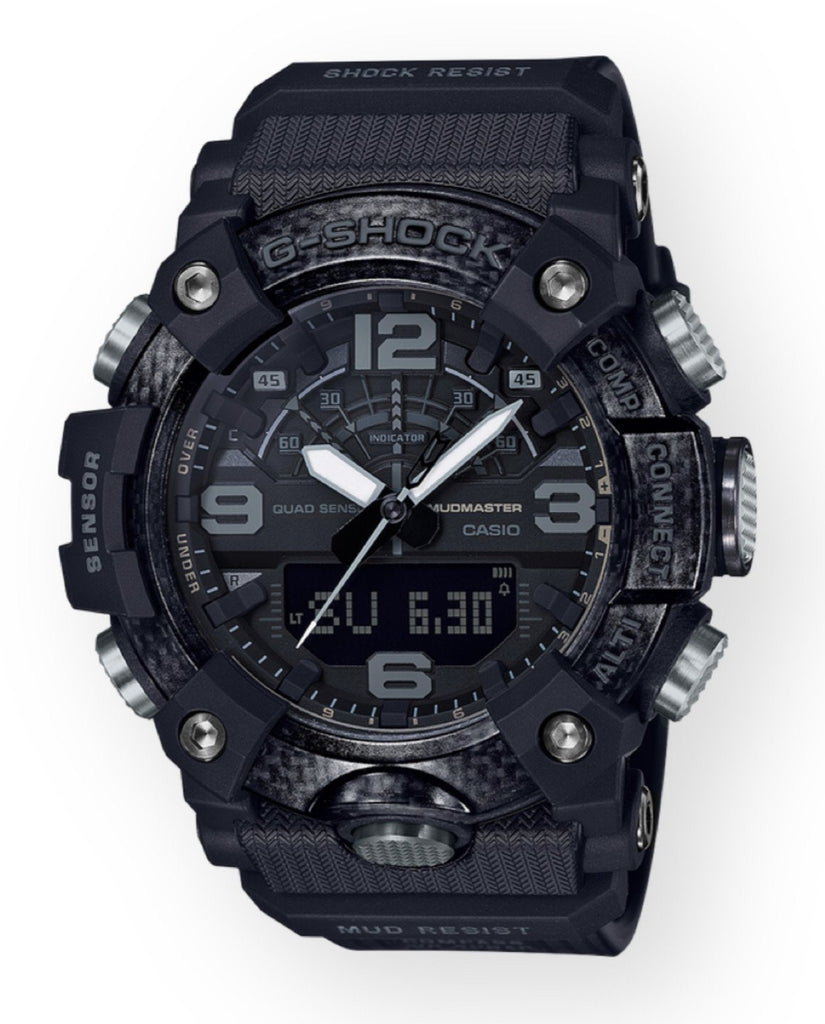 G-Shock Blackout Mudmaster Watch GGB100-1B - DePaulas