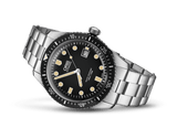 Oris 65 Divers Sixty-Five Black Stainless Steel Watch 	01 733 7720 4054-07 8 21 18