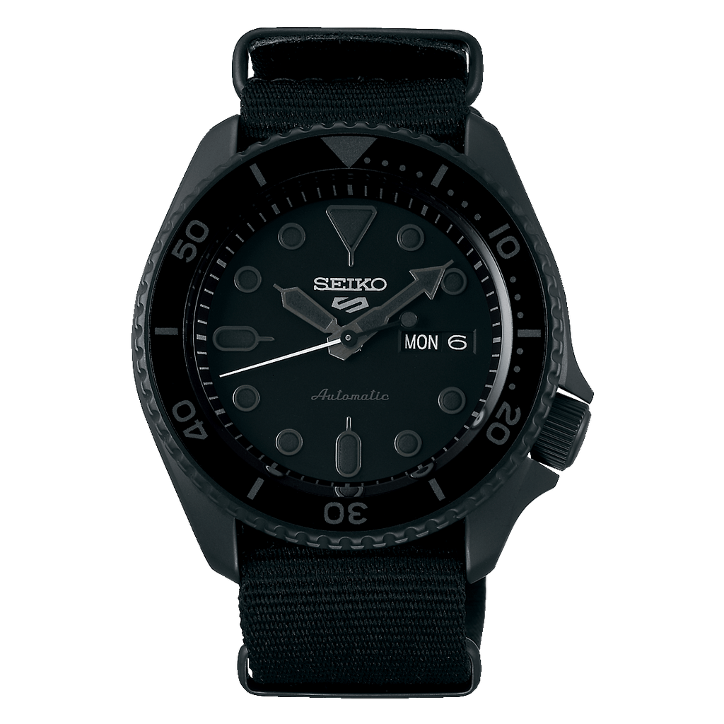Seiko 5 Sports Black SRPD79 - DePaulas