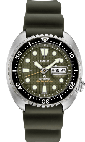 Seiko Prospex King Turtle Green Strap SRPE05 Dive Watch Automatic - DePaulas