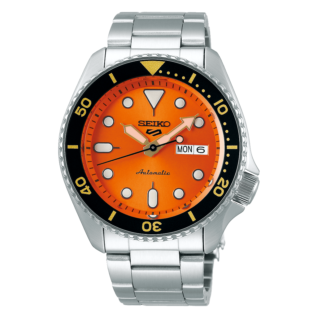 Seiko 5 Sports Orange Bracelet SRPD59 - DePaulas