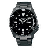 Seiko 5 Sports All Black Bracelet SRPD65