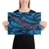 Swordfish Tide Fine Art Print