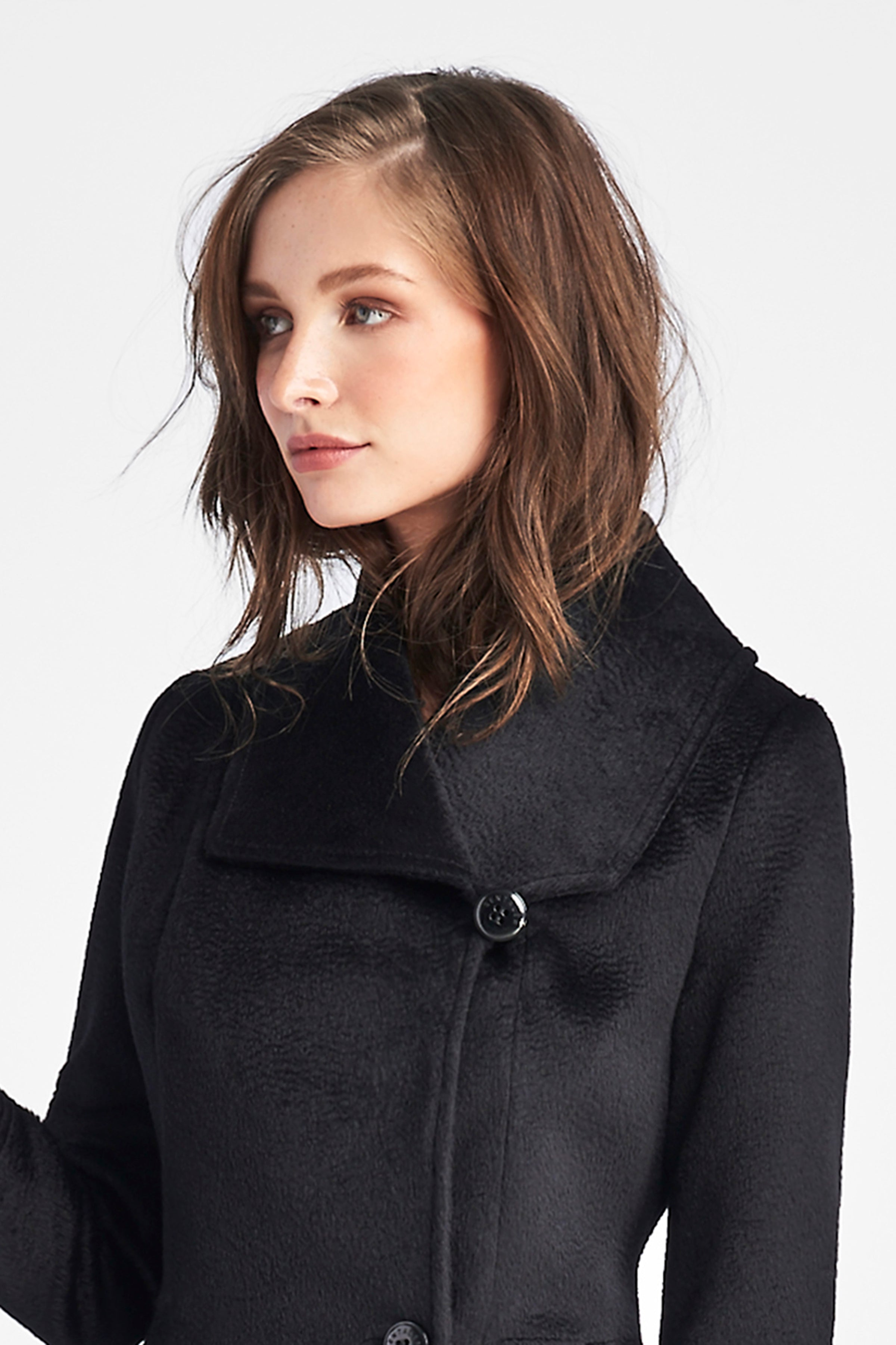 Empire Waist A-line Coat
