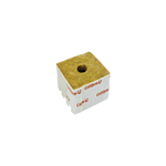 Cultilene 75mm 3 inch rockwool cube with small hole