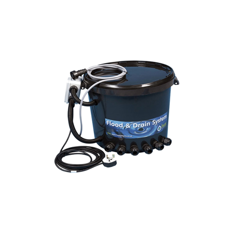 IWS Brain Bucket flood and drain standard with remote