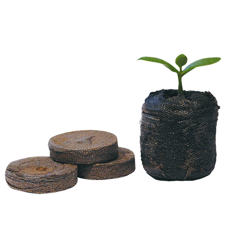 Jiffy 30mm Coco Coir Plug - Propagation - Hull Hydroponics