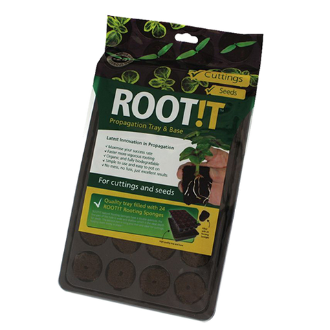 ROOT!T Natural Sponges 24 cell filled trays