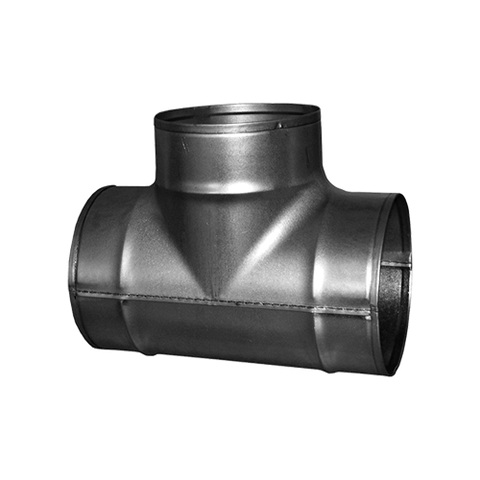 Tee Connector - Ventilation Fittings - Hydroponics