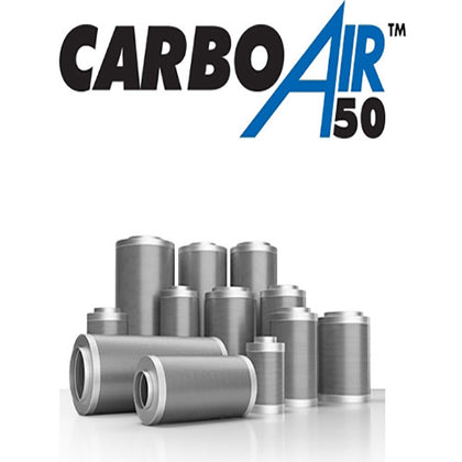 Carboair 50 systemair carbon filter