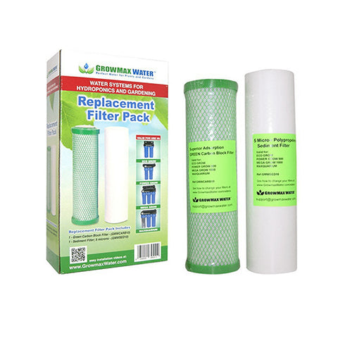 Growmax Replacement Filter Pack