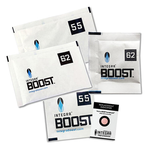 The solution has arrived that will preserve your precious herbs - with humidity control that adapts and responds to its environment! INTERGA BOOST Humidty Packs – ensure your product stays at its best.