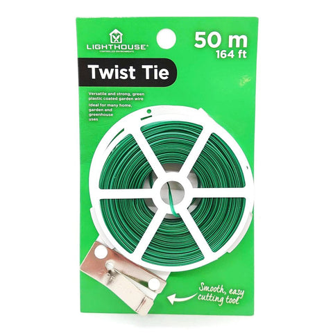 Lighthouse garden twist tie 50m