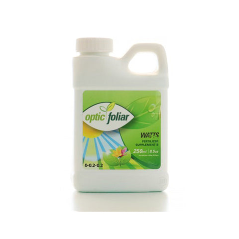 optic foliar watts