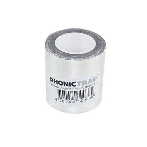 phonic trap aluminium tape 50mm 5m